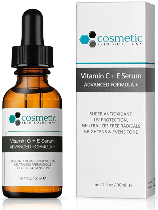Cosmetics Skin Solution Vitamin C+E Serum 15%