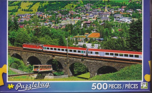 Puzzlebug 500 ~ Federal Railways, Bad Hofgastein, Austria