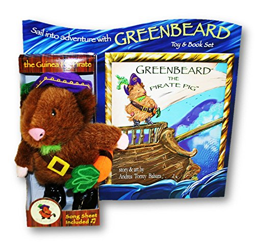 Greenbeard the Pirate Pig Plush Toy & Book Set - 1