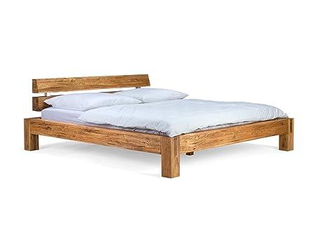 massivum Bett Sonora 180x200cm Eiche natur geölt