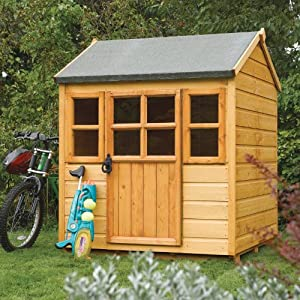 Rowlinson Little Wooden Garden Lodge