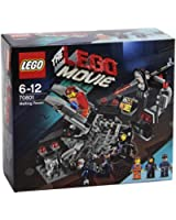 Lego Movie - 70801 - Jeu De Construction - La Salle De Fusion
