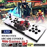 FIRSTLIKE Pandora's Box 5S Metal Double Stick Arcade Game Console 986 Game 2 players