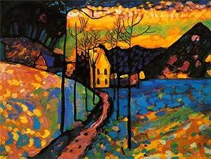 KANDINSKY WINTER LANDSCAPE Kandinsky Landscapes