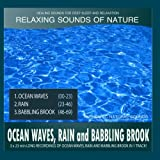 Ocean Waves, Rain and Babbling Brook (Sounds of Nature: 3x23 Min Long Recordings