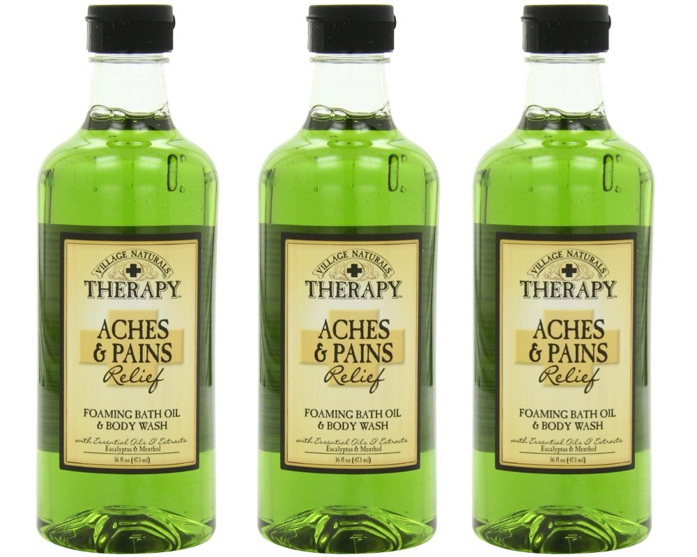Village Naturals Therapy Foaming Bath Oil & Shower Gel