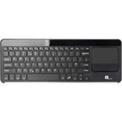1byone Wireless Bluetooth Keyboard with Built-in Multi-touch Touchpad