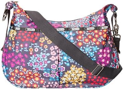 美国时尚品牌乐播诗 LeSportsac 旅游斜跨包 Floral色$99.99