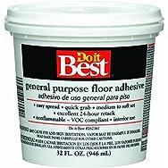 Dap 26002 Do it Best General-Purpose Floor Adhesive-QT MULTI-PURP ADHESIVE