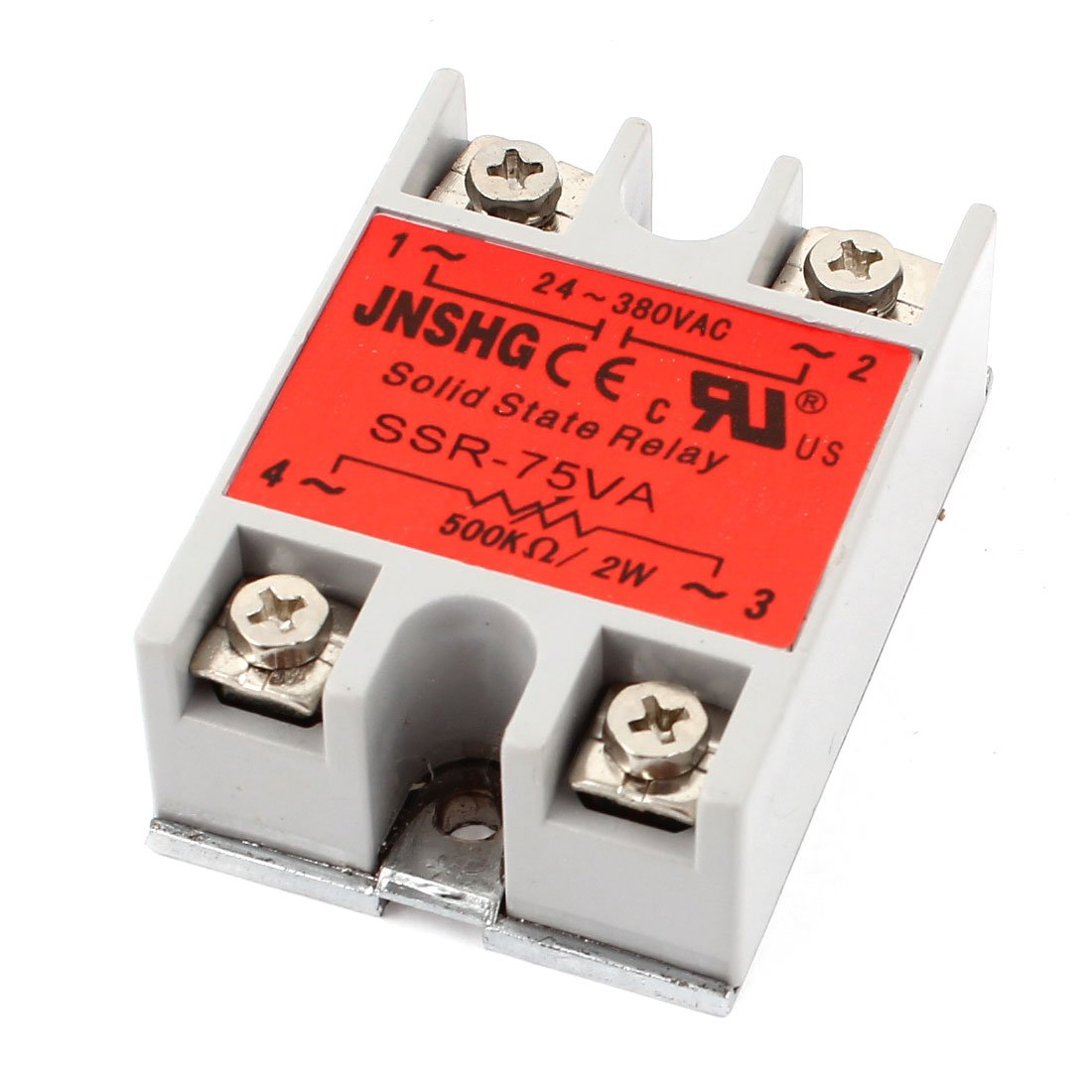 SSR-75VA AC24-380V 500K Ohm 2W Resistance Adjustable Solid State Relay патчкорд utp кат 5e rj 45 вилка rj 45 вилка 5м belsis bl1097