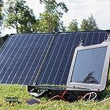The Phoenix Generator + 100 Watt Monocrystalline Foldable Solar Suitcase Kit (Tamaño: Phoenix + Suitcase)
