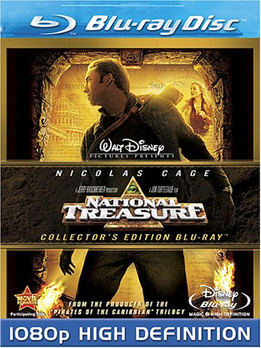 Cover art for  National Treasure [Blu-ray]