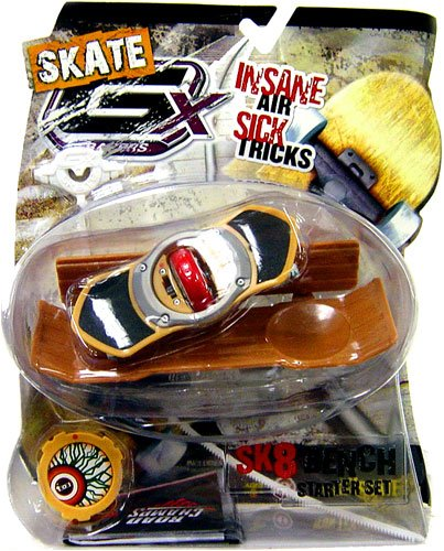 GX Racers Skate SK8 Bench Starter Set with Eye Deck Plate - 1