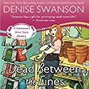 Dead Between the Lines Audiobook by Denise Swanson Narrated by Maia Guest
