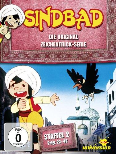 Sindbad - Die Original Zeichentrick-Serie, Staffel 2, Folge 22-42 [3 DVDs]