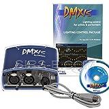 Enttec DMXIS 70570 USB MAC OS & PC Controller & Software 512 Channels (Color: Blue)
