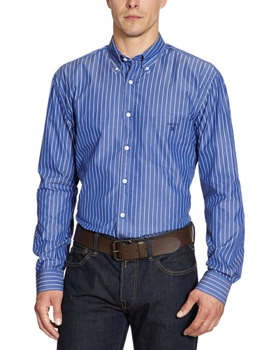Gant Men's 360138 Casual Shirt Blue (Starlit Blue) 52