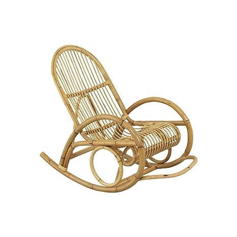 AUBRY GASPARD MRO 1010 Rocking-chair en manau