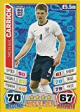 Match Attax World Stars 2014 England #94 Michael Carrick Base Card