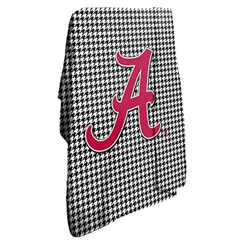 NCAA Alabama Crimson Tide Houndstooth Classic Fleece Blanket Alabama Fleece Throw