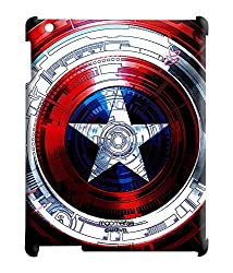 Captains Shield Decoded - Pro case for iPad Mini 1/2/3