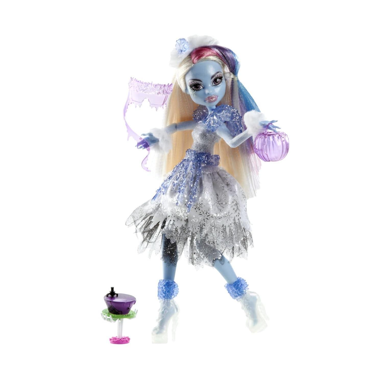 Mattel y0366 monster high kostümparty abbey bominable puppe und