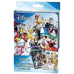Disney Friends and Villains Set of 2 Card Decks by Cardinal