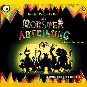 Monsterabteilung Hörbuch