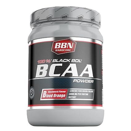 BBN Hardcore BCAA black Bol Powder Blood orange, 1er Pack (1 x 450 g)