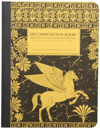 Pegasus Decomposition Book: College-Ruled Composition Notebook With 100% Post-Consumer-Waste Recycled Pages