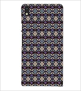 PrintDhaba Pattern D-5329 Back Case Cover for HUAWEI ASCEND P6 (Multi-Coloured)
