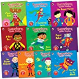 Superhero Phonic Readers Pack, 10 books, RRP £49.90