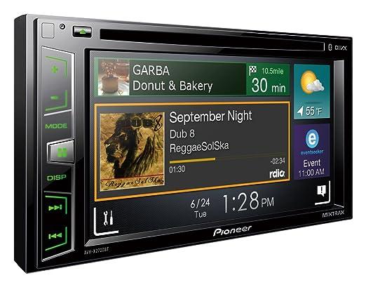 """Pioneer MIXTRAX AVH-X2700BT Autoradio MP3/USB 6,2"""" Bluetooth Noir"""