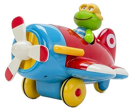 Early Learning Centre - 137043 - Jouet D'éveil - Grenouille Et Son Avion Toy Box