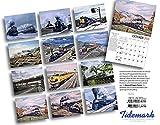 Howard Foggs Trains 2016 Calendar 11x14