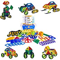 Buzz and Heidi 160-Piece Magnetic Building Set