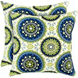 Greendale Home Fashions Indoor/Outdoor Accent Pillows, Summer, Set of 2