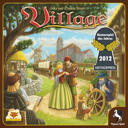 Pegasus Spiele 54510G - Village (deutsch/englische Ausgabe), Kennerspiel des Jahres 2012