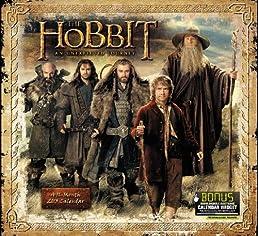 2013 The Hobbit: An Unexpected Journey Wall Calendar