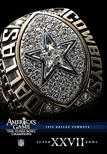 DVD : Nfl America's Game: 1992 Cowboys (super Bowl Xxvii