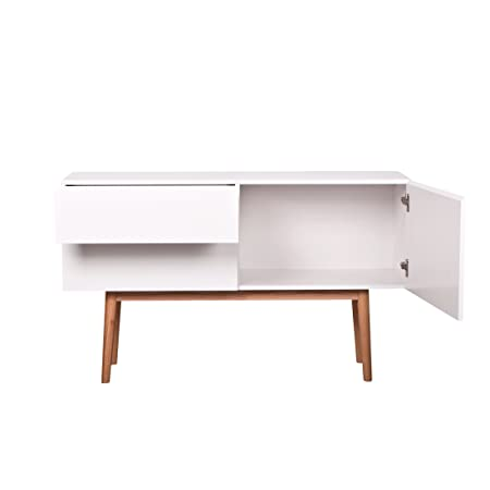 Sideboard High On Wood mit 2 Schubladen und Tur