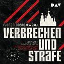 Verbrechen und Strafe 5-6 Hörbuch von Fjodor M. Dostojewskij Gesprochen von: Sylvester Groth
