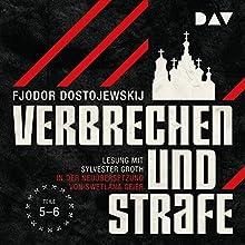 Verbrechen und Strafe 4-5 Hörbuch von Fjodor M. Dostojewskij Gesprochen von: Sylvester Groth
