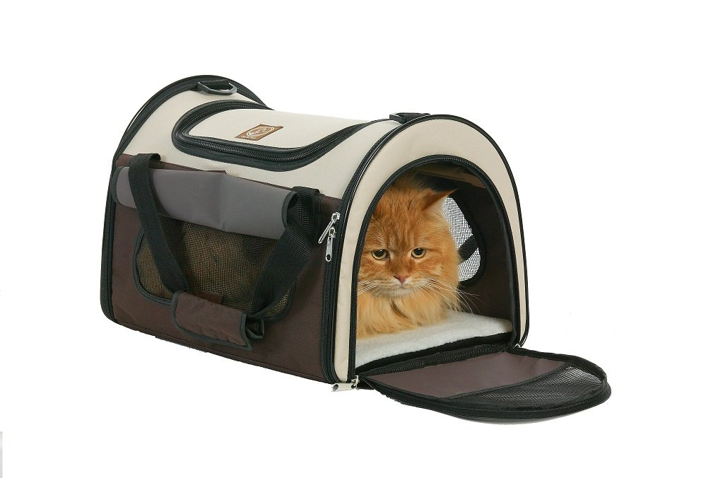 One For Pets Folding Carriers - The Dome коврики в салон toyota camry 07 2006 12 2011 4 шт полиуретан