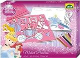 Lena 65803 - Zeichenschablonen Premiumset Disney Princess