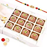 Rakhi Gifts Sweets- Mathura Peda In White Box