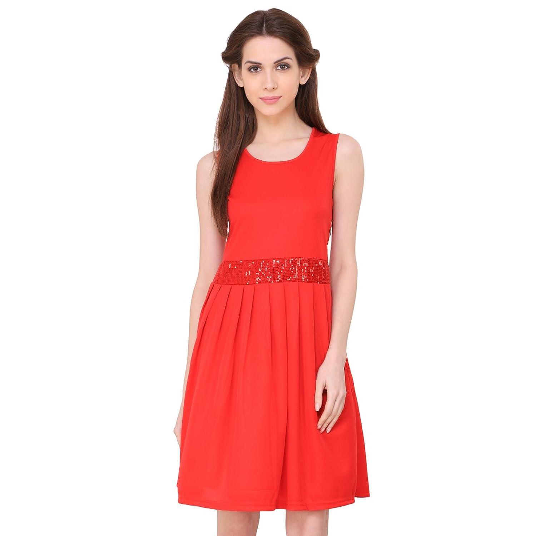 ALC Creations Women's Viscose Midi Dress: