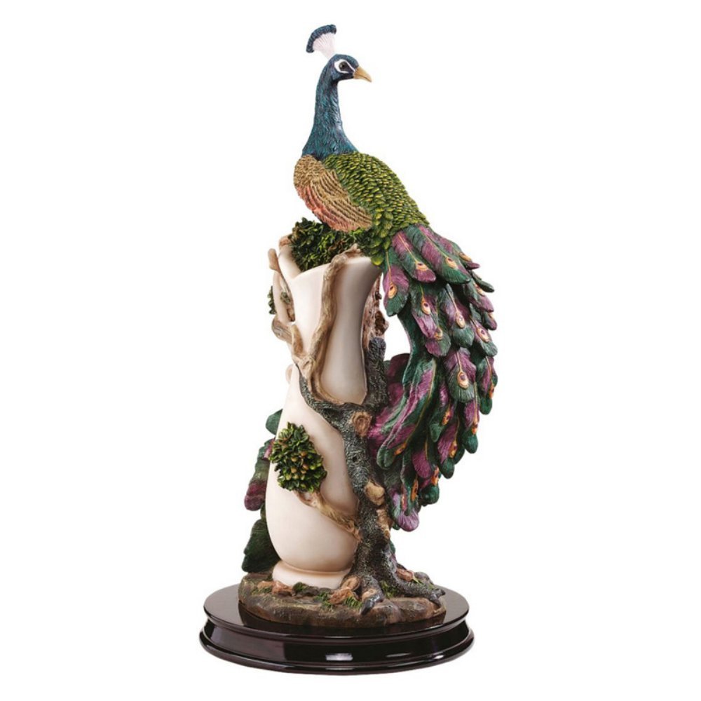 Beautiful Peacock Statues For Lawn And Garden Peacock