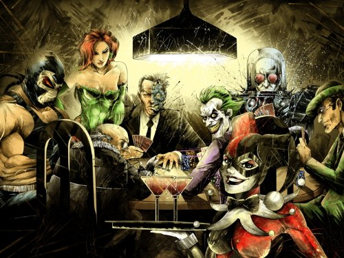 Batman Villains Gambling