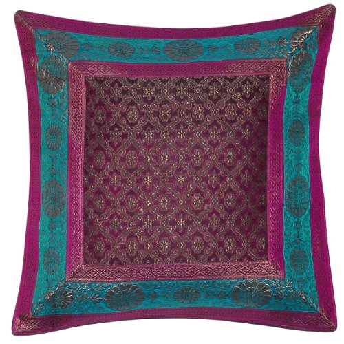 Ideas For Home Décor Pillow Cases India Silk Fabric